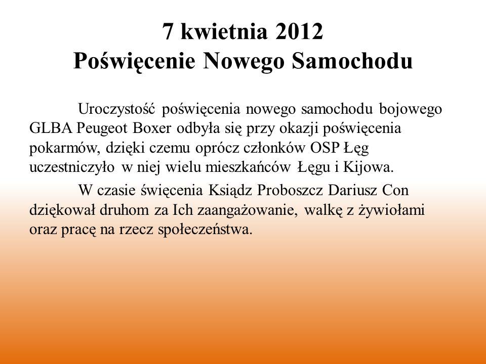 6 maja 2012 Gminny Dzień Strażaka