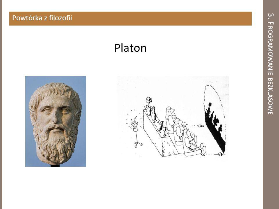 Powtórka z filozofii Platon