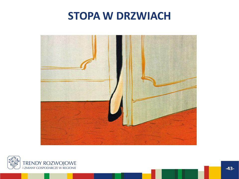 STOPA W DRZWIACH -43-