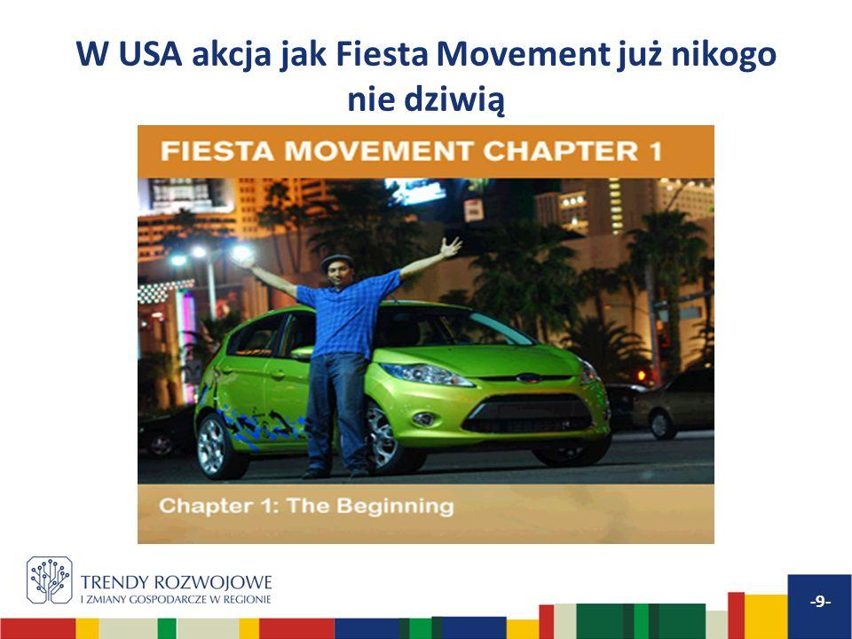 W USA akcja jak Fiesta Movement już nikogo nie dziwią -9-