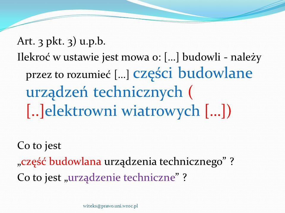 Urządzenie techniczne .c.d.