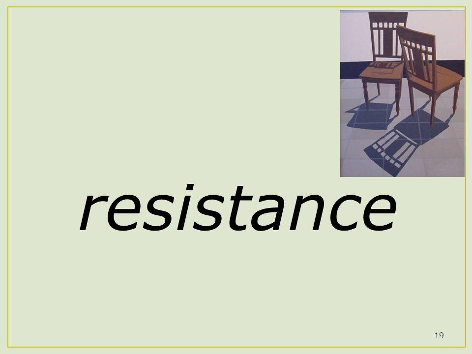 19 resistance