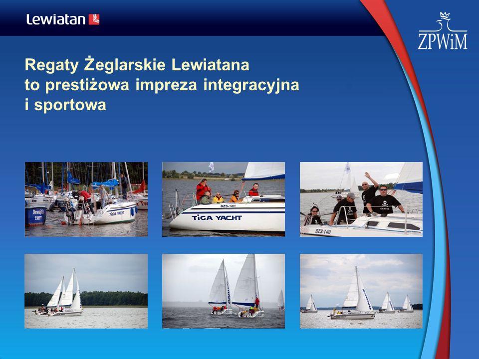 Regaty Żeglarskie Lewiatana to prestiżowa impreza integracyjna i sportowa
