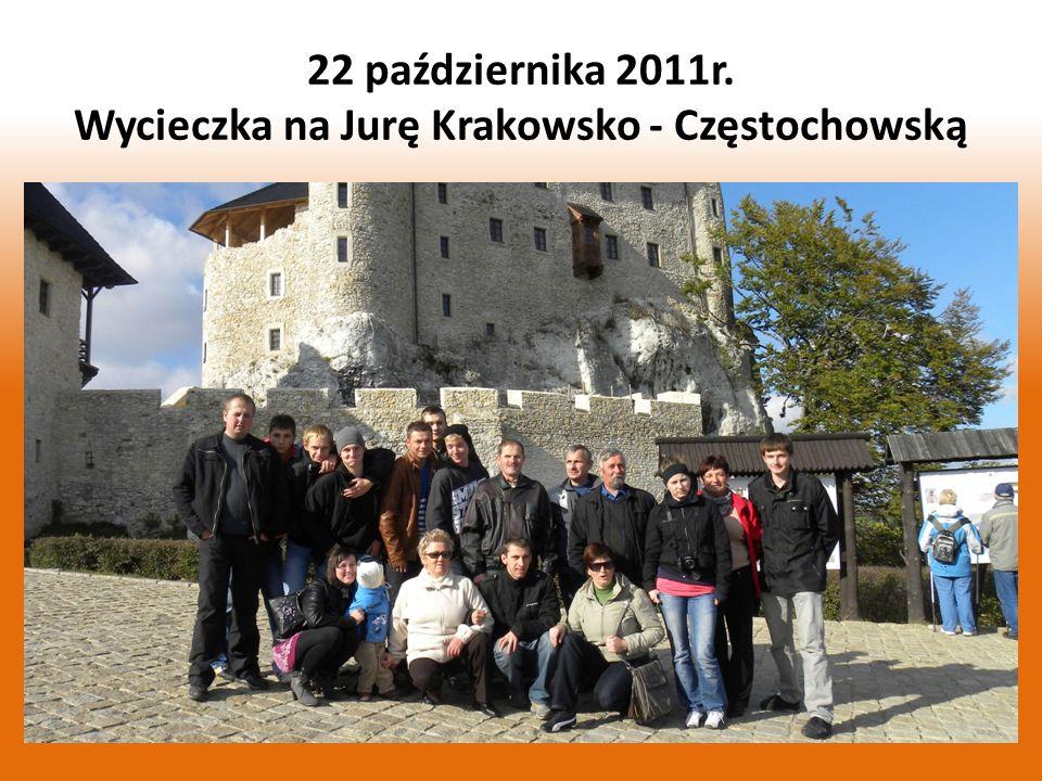 19 członków OSP Łęg wzięło udział w wycieczce autokarowej na Jurę Krakowsko – Częstochowską.