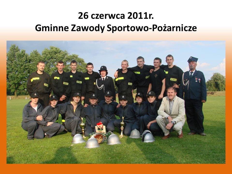 Podczas Gminnych Zawodów Sportowo - Pożarniczych, które 26 czerwca odbyły się w Widzowie zarówno żeńska jak i męska sekcja OSP Łęg obroniły tytuły Mistrza Gminy Kruszyna.
