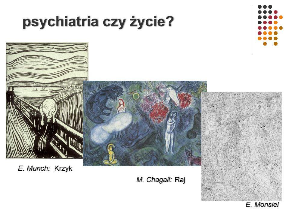 psychiatria czy życie?psychiatria czy życie.E. MonsielE.