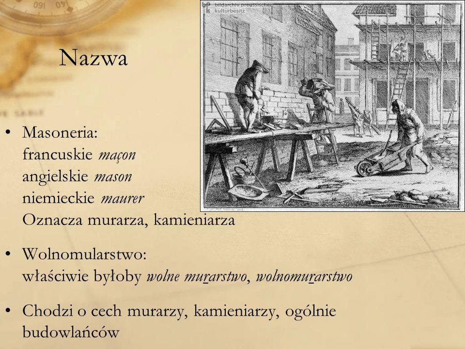 Loże pierwsza loża - Warszawa 1721 – Bractwo Czerwone loża katowicka – od 2007 – Orzeł Biały W okresie międzywojennym około 400 osób W 2011 około 1500 osób