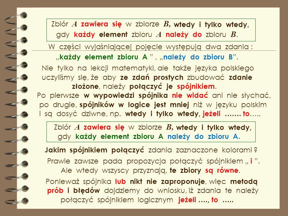 Po tak sformułowanej definicji jej zapis symboliczny, słów na symbole. Autorzy podręczników nie zauważają, że uczniowie i studenci maja prawo pytać, s