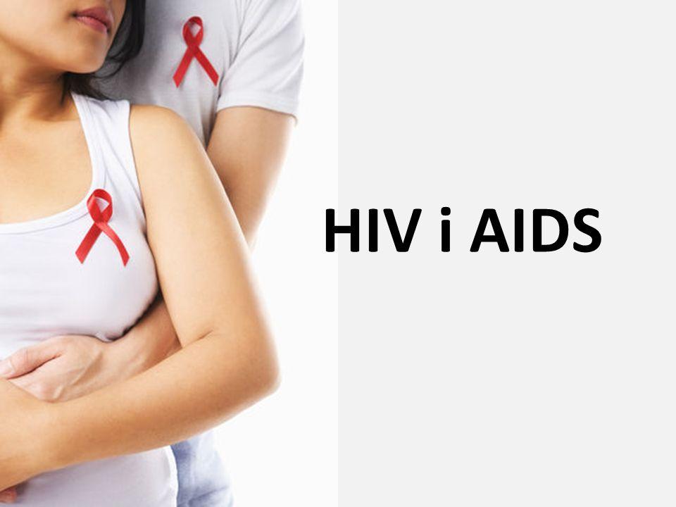 Ludzki wirus upośledzenia (Human Immunodeficency Virus) HIV Schemat budowy wirusa HIV: a) glikoproteina 120, b) glikoproteina 41, c) lipidowa osłonka zewnętrzna, d) białkowa osłonka rdzenia, e) proteaza, f) kapsyd, g) RNA, h) odwrotna transkryptaza, i) integraza