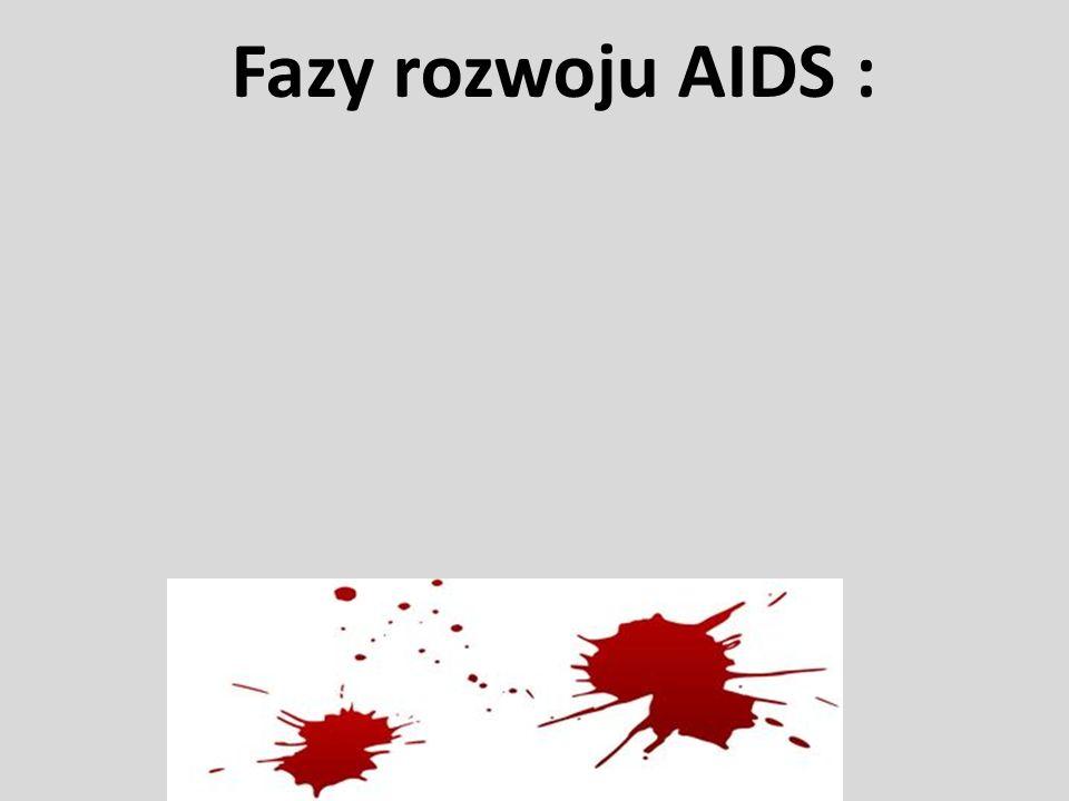 Fazy rozwoju AIDS :