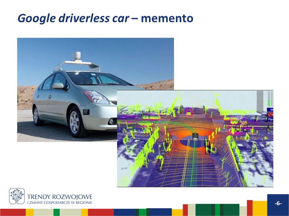 Google driverless car – memento -6-