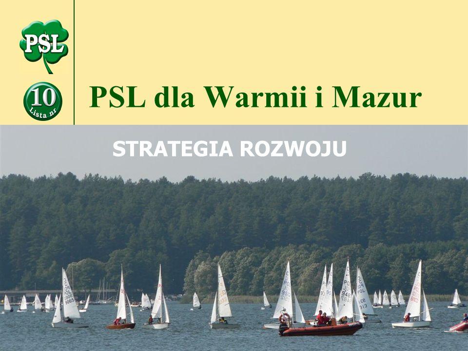 PSL dla Warmii i Mazur STRATEGIA ROZWOJU