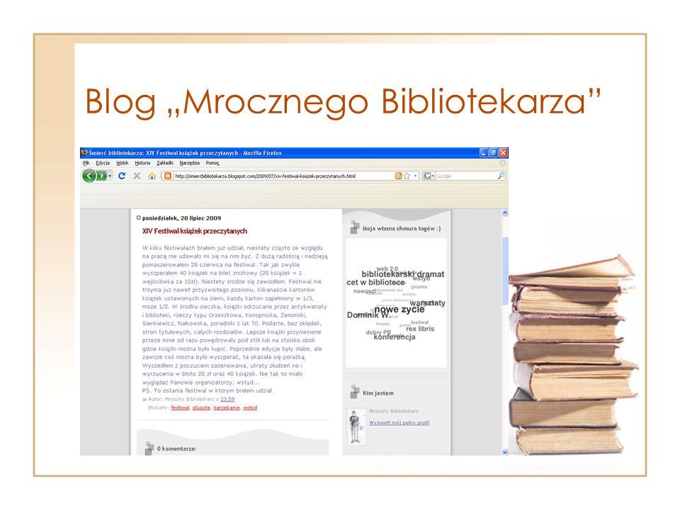 Blog Mrocznego Bibliotekarza