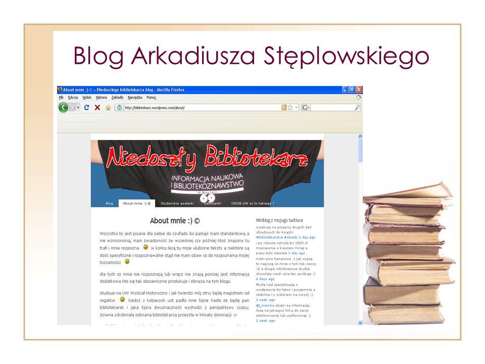 Blog Arkadiusza Stęplowskiego