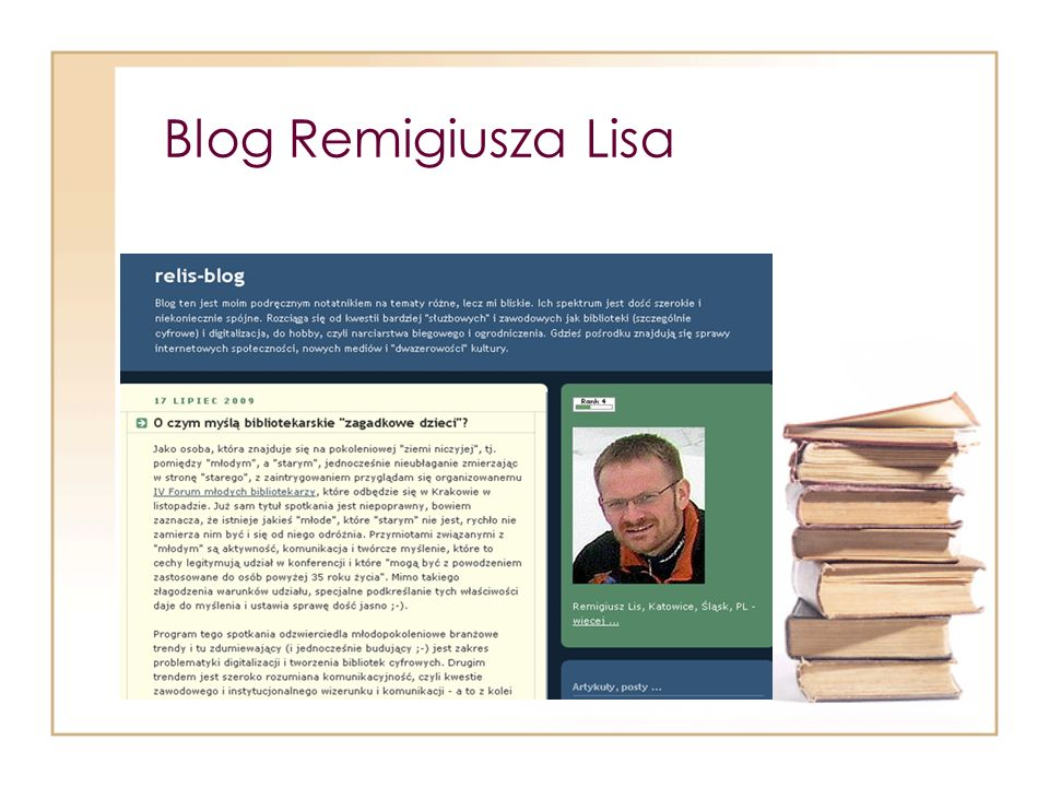Blog Remigiusza Lisa
