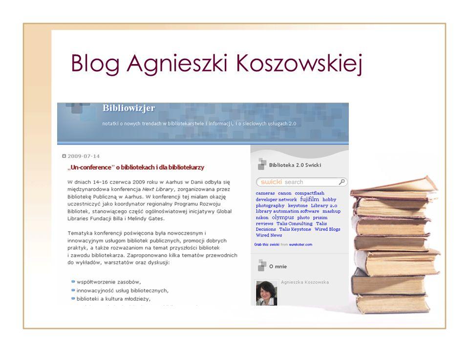 Blog Agnieszki Koszowskiej