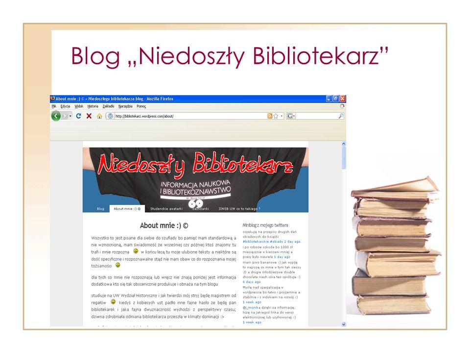 Blog Niedoszły Bibliotekarz