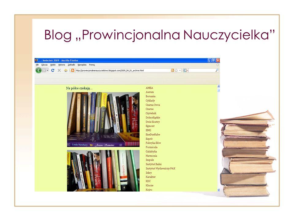 Blog Prowincjonalna Nauczycielka