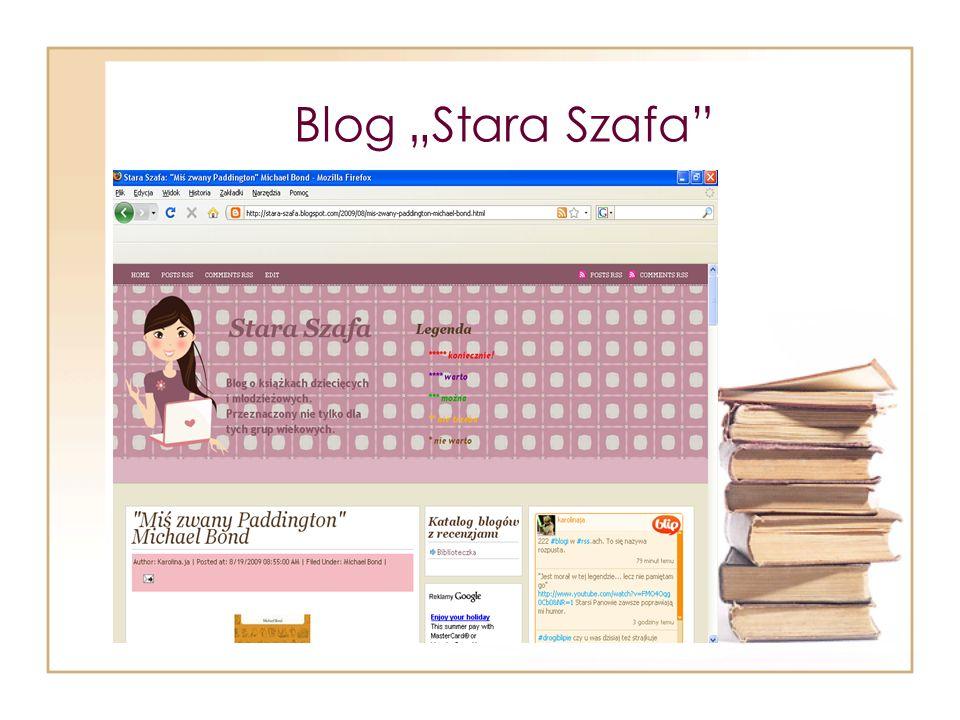 Blog Stara Szafa