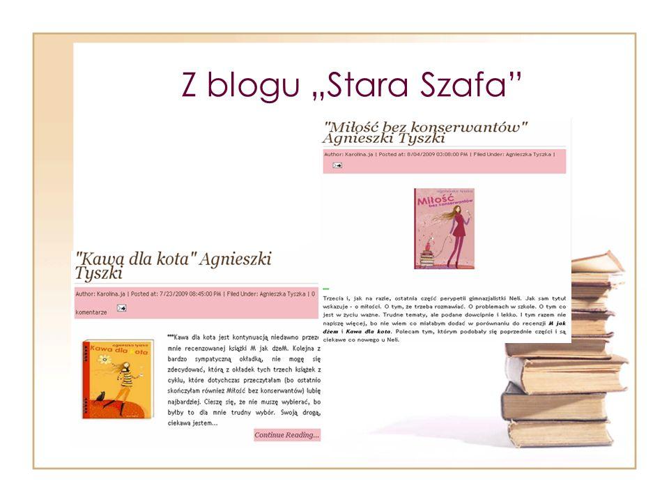 Z blogu Stara Szafa