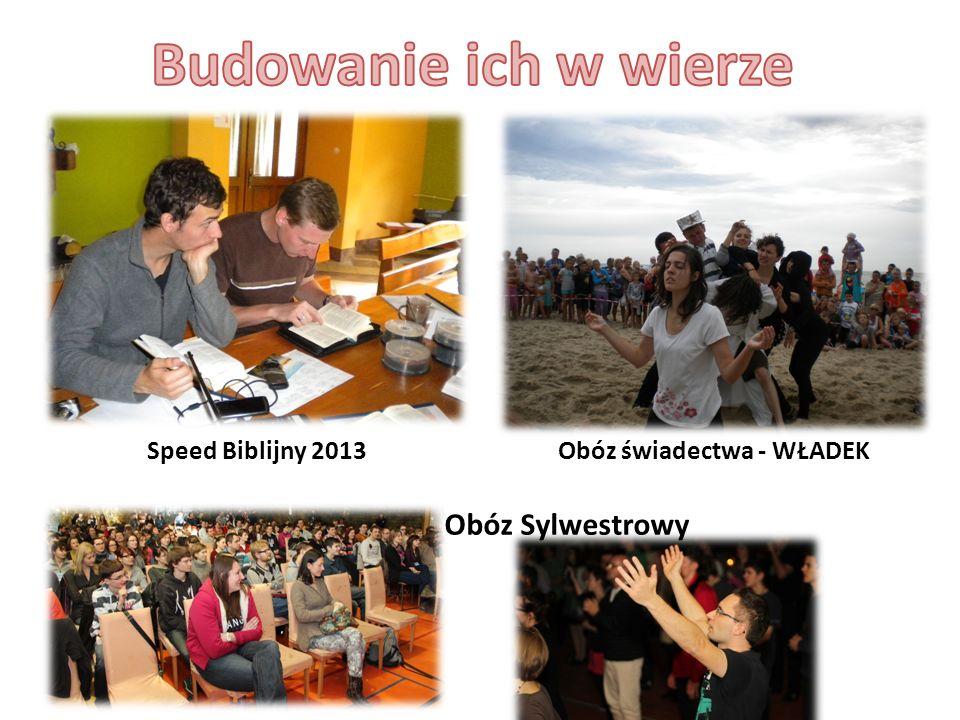 Speed Biblijny 2013Obóz świadectwa - WŁADEK Obóz Sylwestrowy
