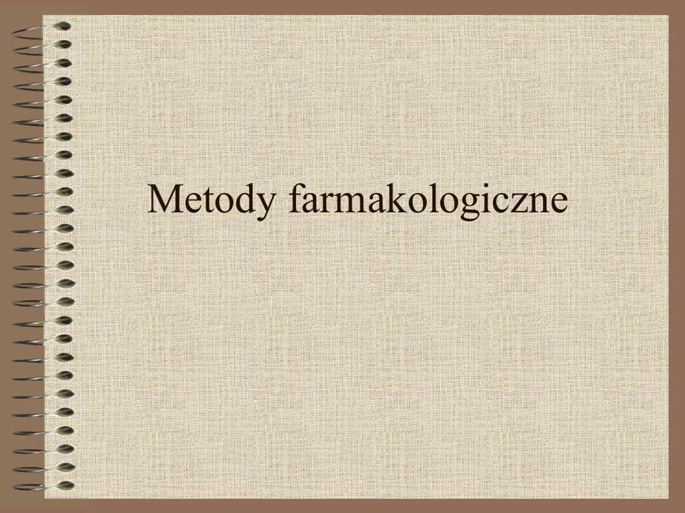 Metody farmakologiczne