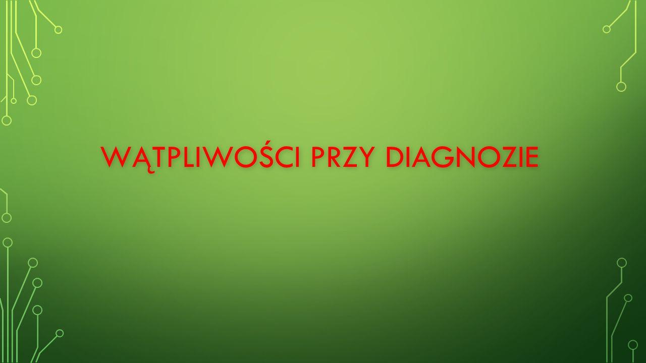 Przyczyną trudności w nauce nie jest dysleksja, gdy występują: zespoły i choroby genetyczne (np.