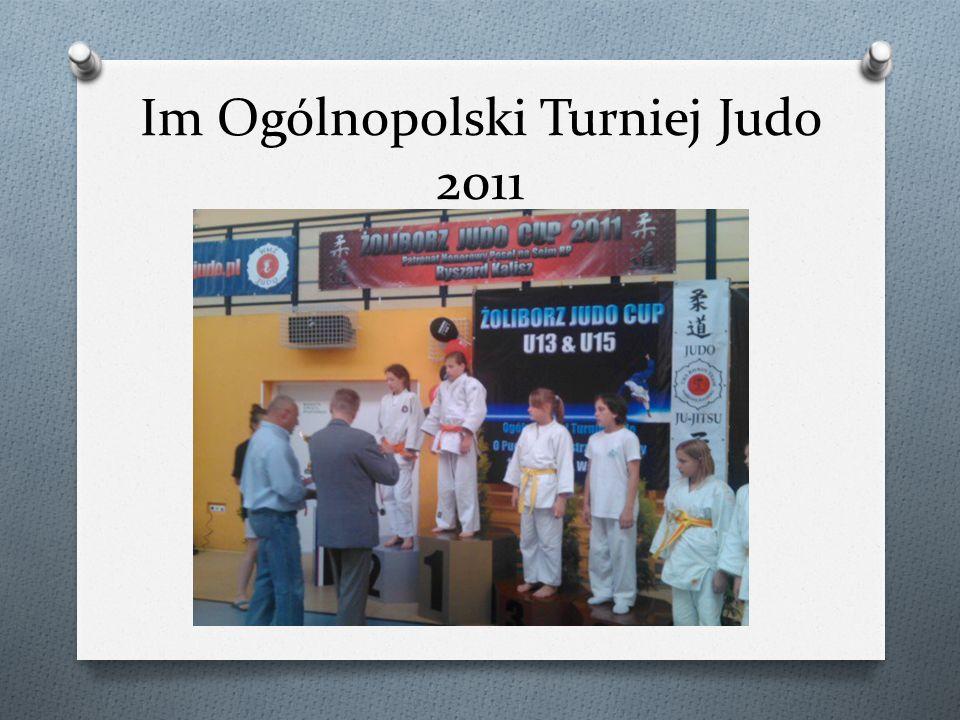 Im Ogólnopolski Turniej Judo 2011