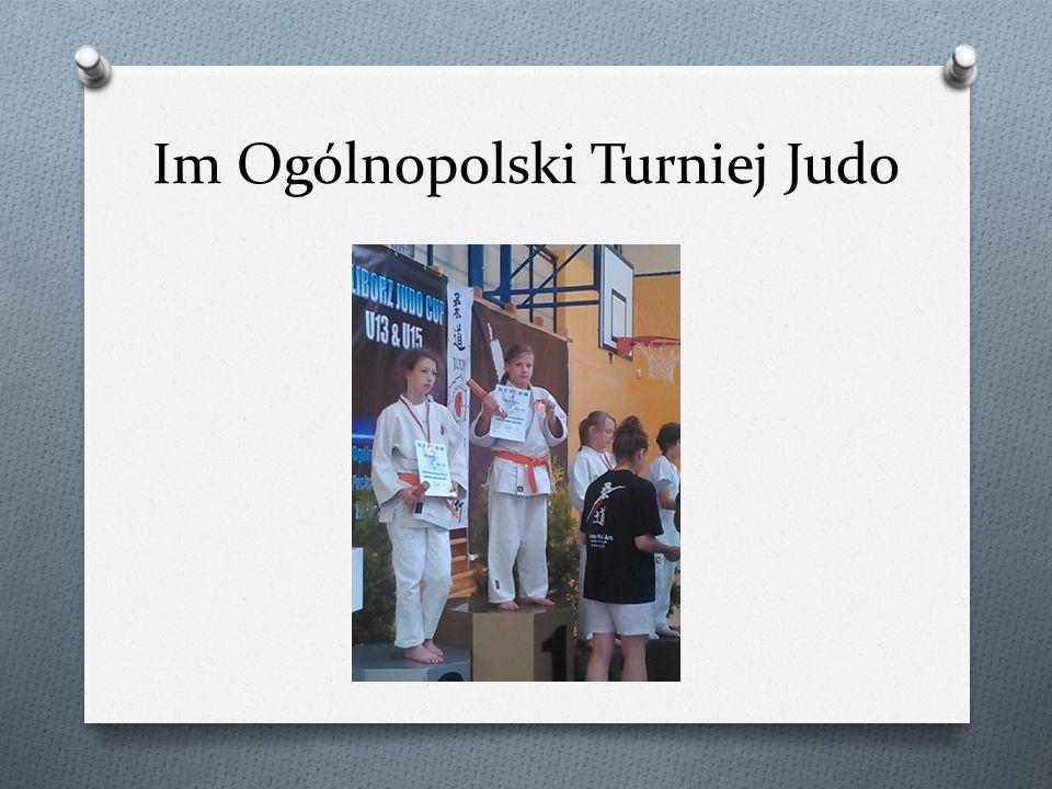 Im Ogólnopolski Turniej Judo