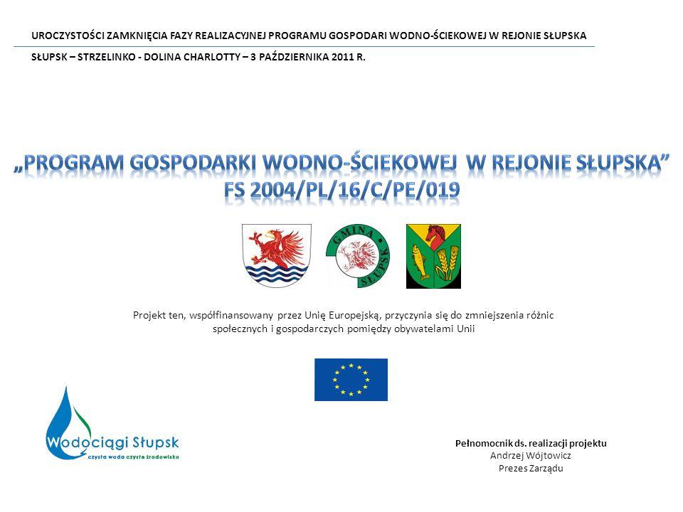 Projekt ten, współfinansowany przez Unię Europejską, przyczynia się do zmniejszenia różnic społecznych i gospodarczych pomiędzy obywatelami Unii Pełnomocnik ds.