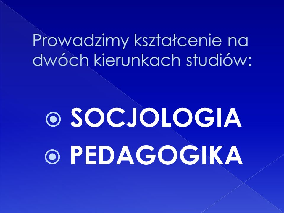 SOCJOLOGIA PEDAGOGIKA