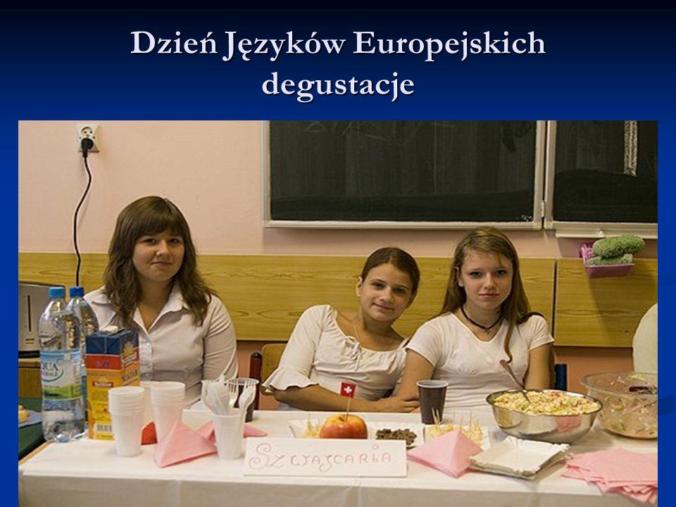 Dzień Języków Europejskich degustacje