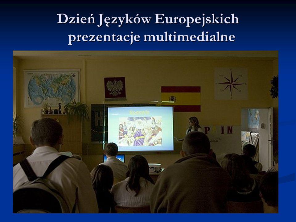 Dzień Języków Europejskich prezentacje multimedialne