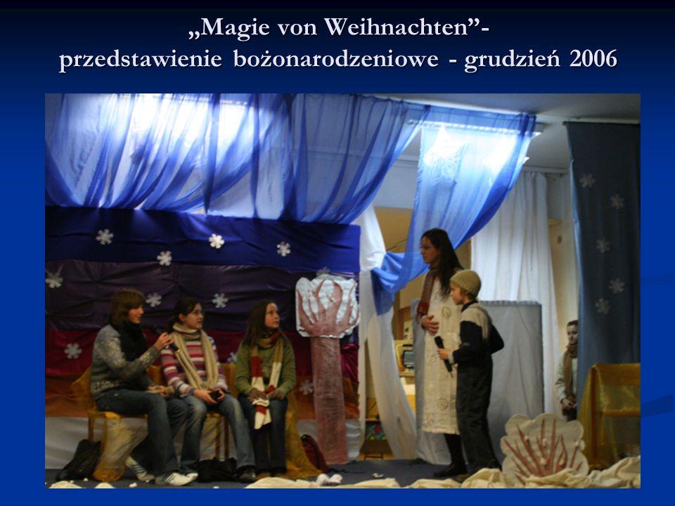 Magie von Weihnachten- przedstawienie bożonarodzeniowe - grudzień 2006