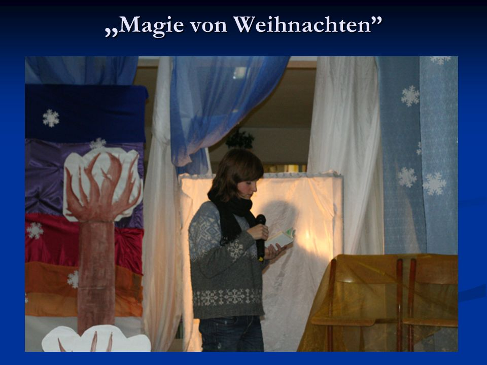 Magie von Weihnachten Magie von Weihnachten