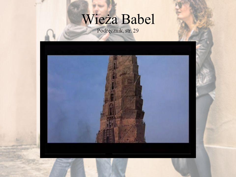 Wieża Babel Podręcznik, str. 29