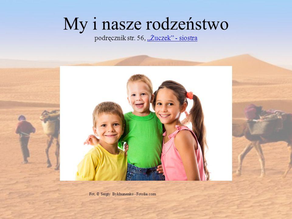 My i nasze rodzeństwo podręcznik str. 56, Żuczek - siostraŻuczek - siostra Fot. © Sergiy Bykhunenko - Fotolia.com