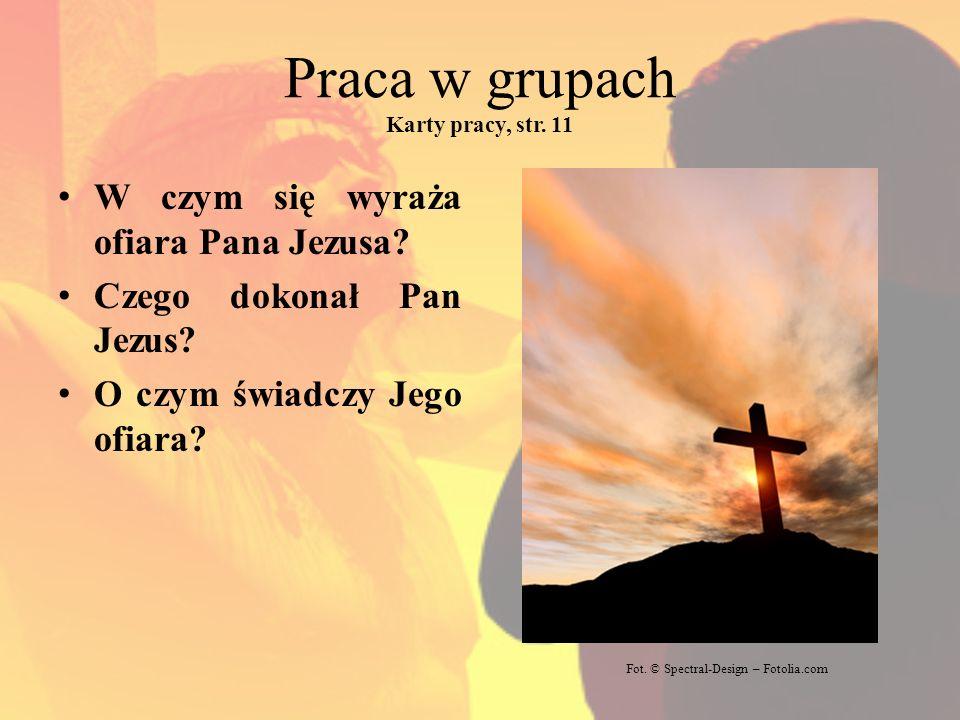 Jeśli kto chce iść za mną, niech weźmie krzyż swój i niech mnie naśladuje… Fot.
