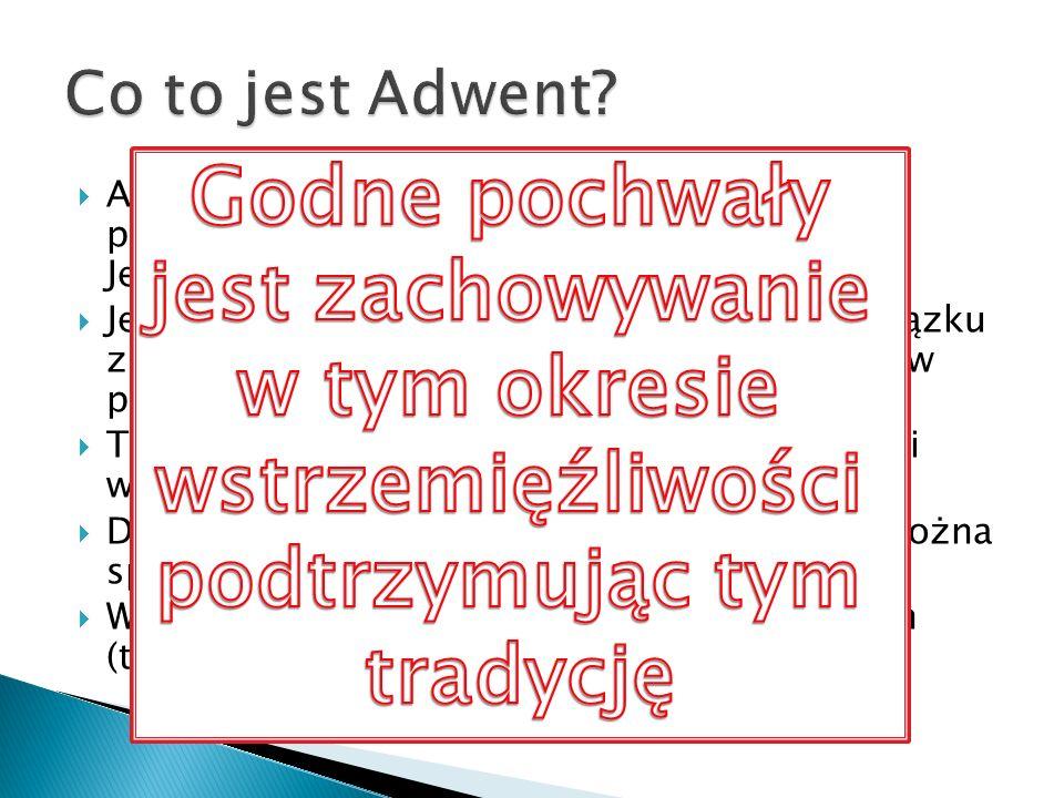 Adwent (koniec listopada/początek grudnia) Boże Narodzenie (do Chrztu Pańskiego) Okres Zwykły Wielki Post (od Popielca) Wielkanoc (do Zesłania Ducha Świętego) Okres Zwykły
