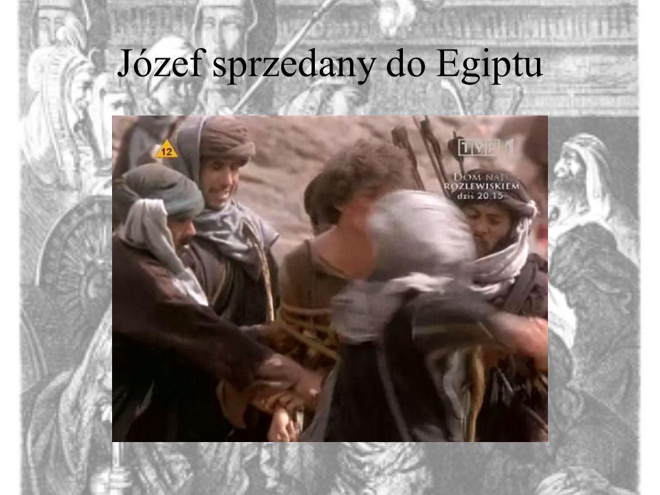 Józef sprzedany do Egiptu