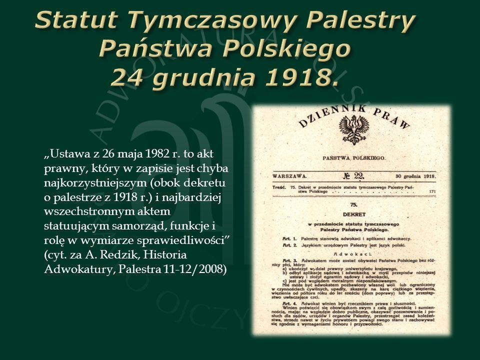 Ustawa z 26 maja 1982 r.