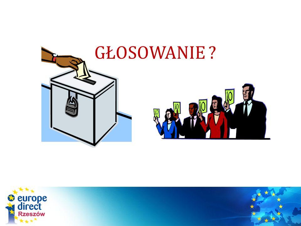 Głosowanie – czym jest .