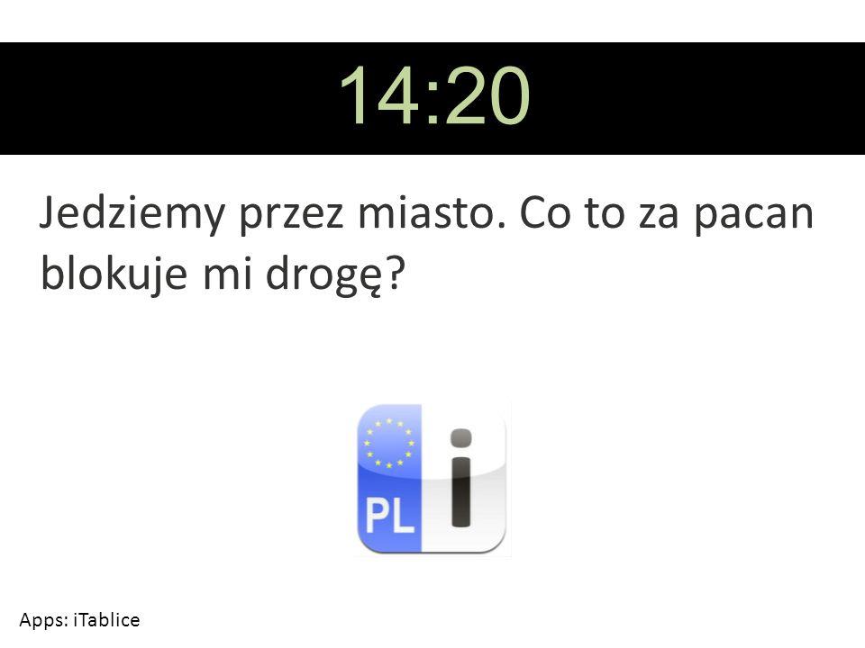 14:30 KORKI! Jak je ominąć? Apps: Yanosik
