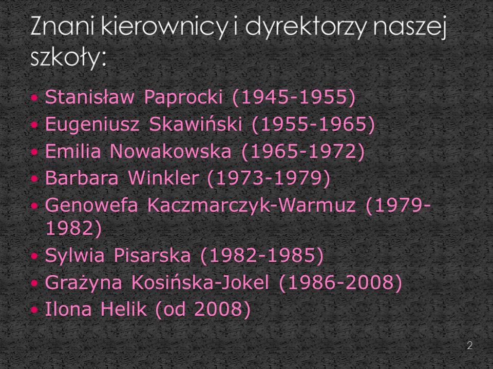 Dyrektor szkoły w latach 1945- 1955 3