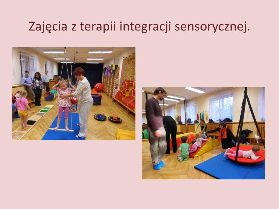 Zajęcia z terapii integracji sensorycznej.