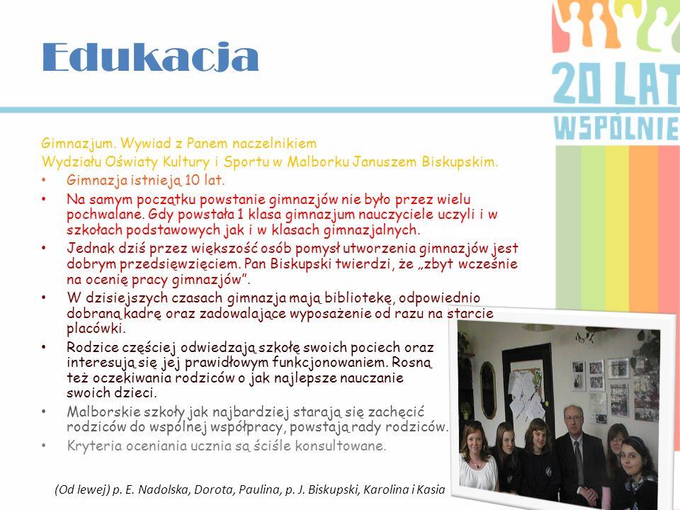 Wywiad z p.dyrektor Beatą Kacprowicz Szkoła podstawowa nr 3 im.