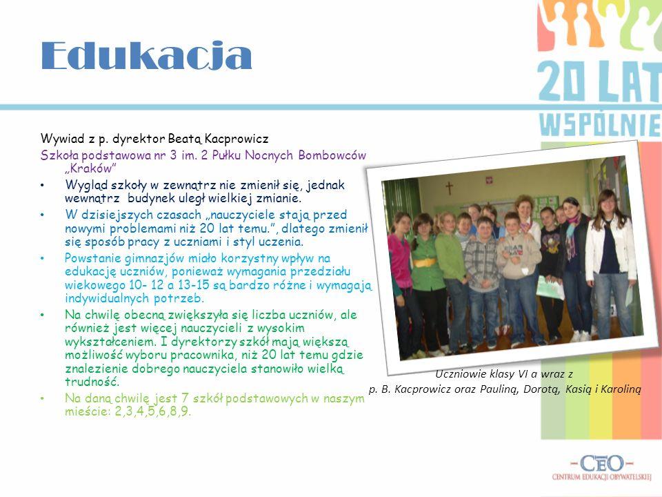 Karolina Szysz 1996,IB Katarzyna Bolek 1996, IB Paulina Rudnicka 1996, IA Dorota Murawska 1996, IA Gimnazjum nr 2 im.