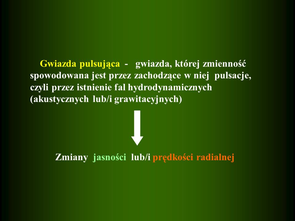 Lokalne własności oscylacji są opisane przez dwie charakterystyczne częstotliwości: 1.