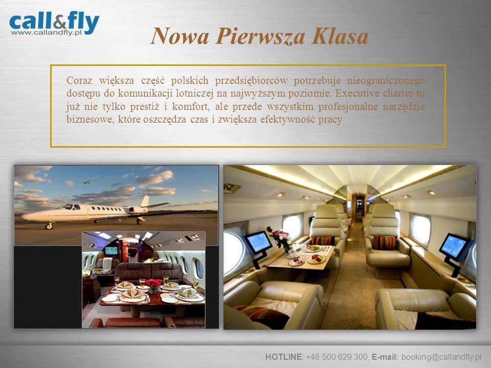 Page 4 Coraz większa część polskich przedsiębiorców potrzebuje nieograniczonego dostępu do komunikacji lotniczej na najwyższym poziomie. Executive cha