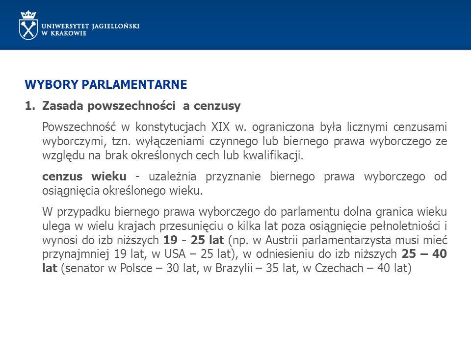 STATUS CZŁONKA PARLAMENTU Polskie prawo parlamentarne rozróżnia dwa rodzaje immunitetu w znaczeniu przedmiotowym: immunitet materialny - rozumiany jest jako wyłączenie karalności pewnych czynów, a więc wyjęcie piastuna immunitetu spod działania materialnego prawa karnego.